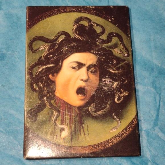 Very old vintage Medusa magnet